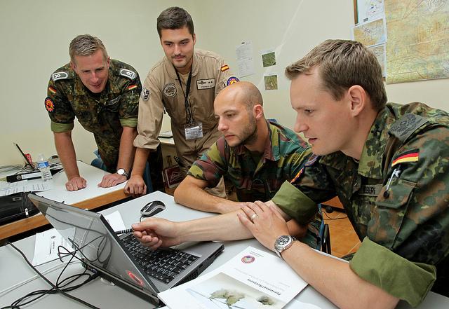 die bundeswehr als arbeitsgeber bietet viele berufsbilder an - Bundeswehr Freiwilliger Wehrdienst Bewerbung