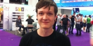 Timo suchte auf der gamescom nach Infos zu verschiedenen Jobs
