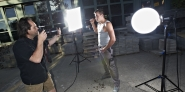 Fotoshooting mit Handwerker