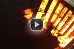 Bildschirmfoto von Video mit Feuer