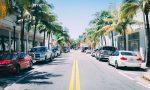 Straße in Florida