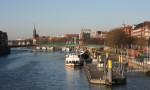 Ausbildung in Bremen - Arbeiten am Weserufer