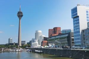 Ausbildung in Düsseldorf - moderne Stadt am Rhein