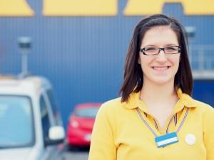 Azubi von IKEA