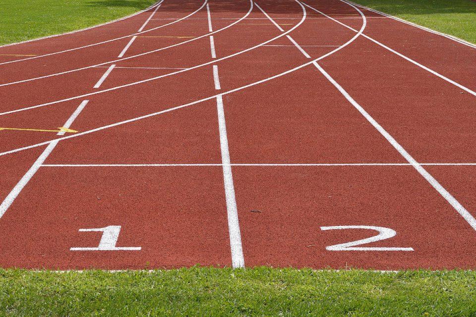 Sportfeld Läufer