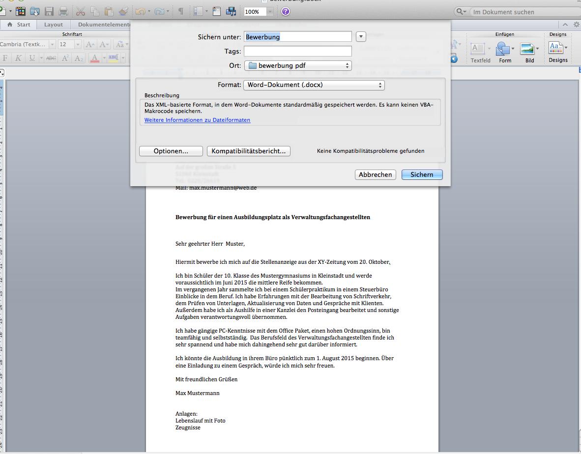 Kurzbewerbung Per E Mail Bewerbungsformular Und Karriere App