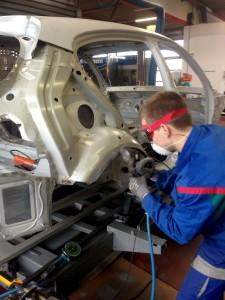 Ausbildung für Karosserie- und Fahrzeugbaumechaniker/-in